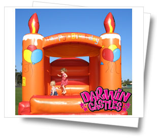 Mini Happy Birthday Jumping Castle