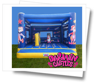 Clowning Around Jumping Castle