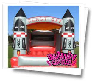 Mini Blast Off Jumping Castle