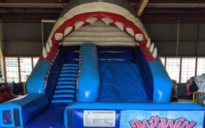 Wally water slide