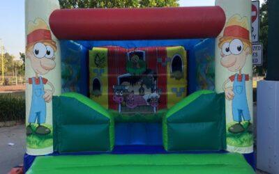 Farm Bouncy Castle