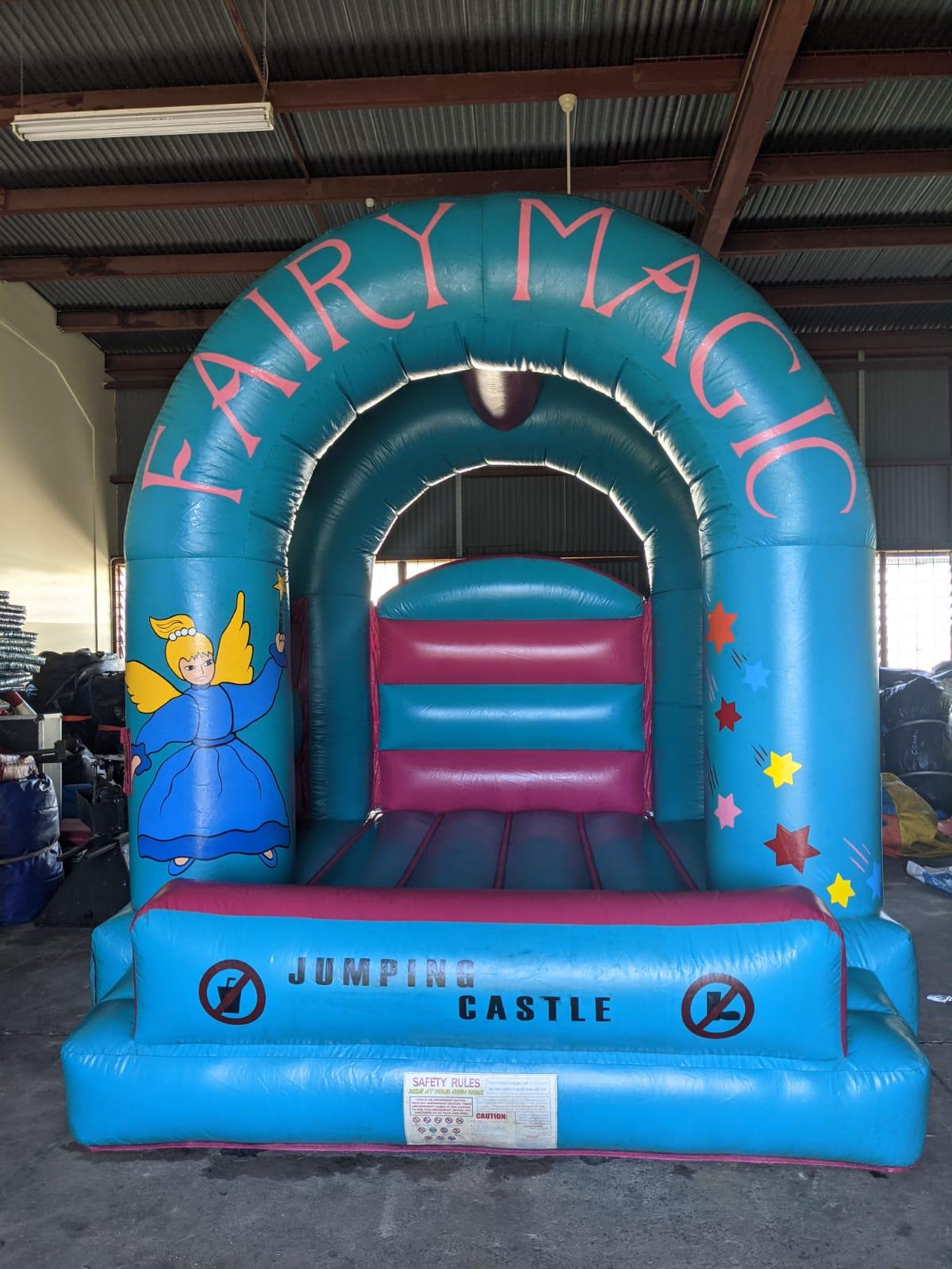 Fairy magic bouncy castle